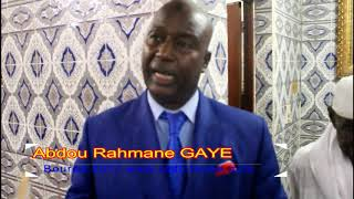 GAMOU 2017 :Qu'est ce que c'est le Bourde par Abdou Rahmane Gaye Zawiya Seydil Hadji Malick Dakar