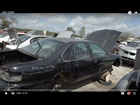 1995 Chevy Impala SS clone (Caprice 9C1 or 9C6) at LKQ junkyard in Clearwater, FL
