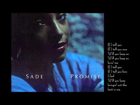 Sade - The Sweetest Taboo (lyrics)
