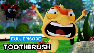 TOOTHBRUSH #1 #2 #3 | FULL EPISODE | Cam & Leon | Funny Cartoon | Cartoon for Kids