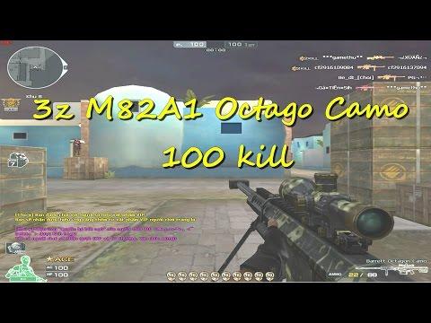 [ Bình luận CF ] Đấu đơn 100 kill  cùng  3z Octagon Camo  - Quang Brave
