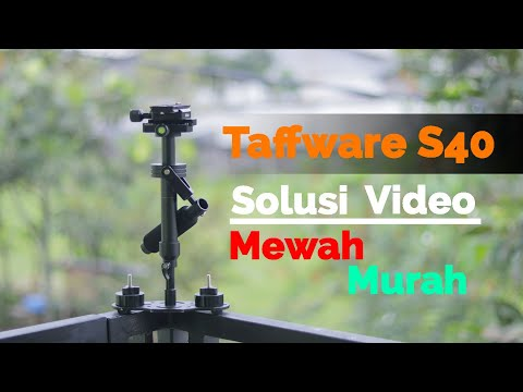 Video Mewah Tanpa Editing   Depth Review Taffware S40 SteadyCam Gimbal