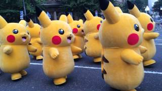 踊る? ピカチュウ大発生チュウ!part.2 Pokémon Pikachu Dance Parade (Yokohama, Japan)  2015,8,1