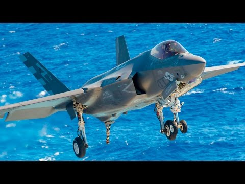 F-35C Sea Trials (DT-II) - Joint Strike Fighter Testing on Aircraft Carrier