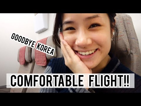 Flying From Seoul To Sydney, Australia