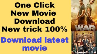 How To Download New Movie | how to download  latest movie 2019 2020 |  tipgramer