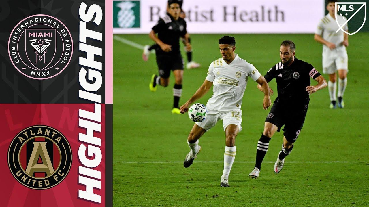 Интер Майами  1-1  Атланта Юнайтед видео