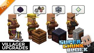 Villager Upgrades | Super Chunk Block [5] | Minecraft Bedrock Edition 1.14 SMP