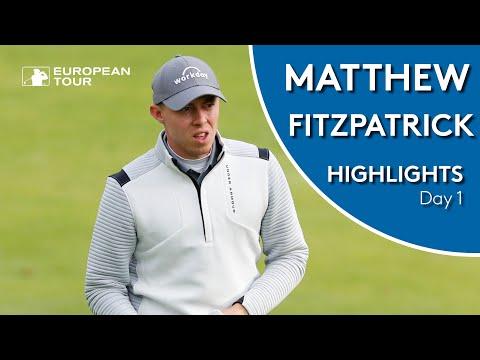Matthew Fitzpatrick Highlights | Round 1 | Scandinavian Invitation