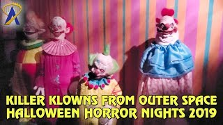 Killer Klowns from Outer Space maze at Halloween Horror Nights Hollywood 2019
