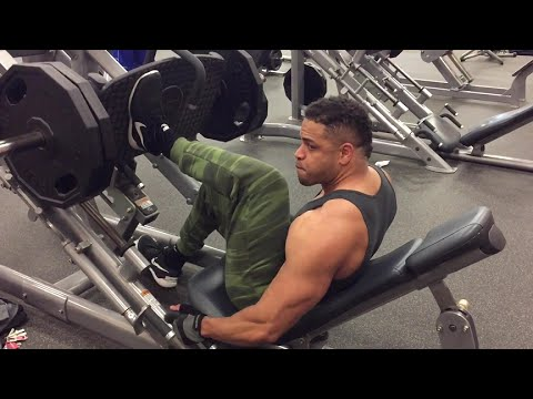 Bodybuilding Leg Workout @hodgetwins