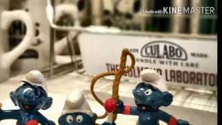 広島 雑貨屋 レトロなスマーフのUSEDフィギュア