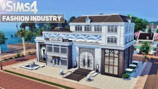 House of Couture   Fashion Industry (No CC) the Sims 4   Stop Motion