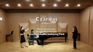Czardas - V.Monti for Flute, Violin and Piano