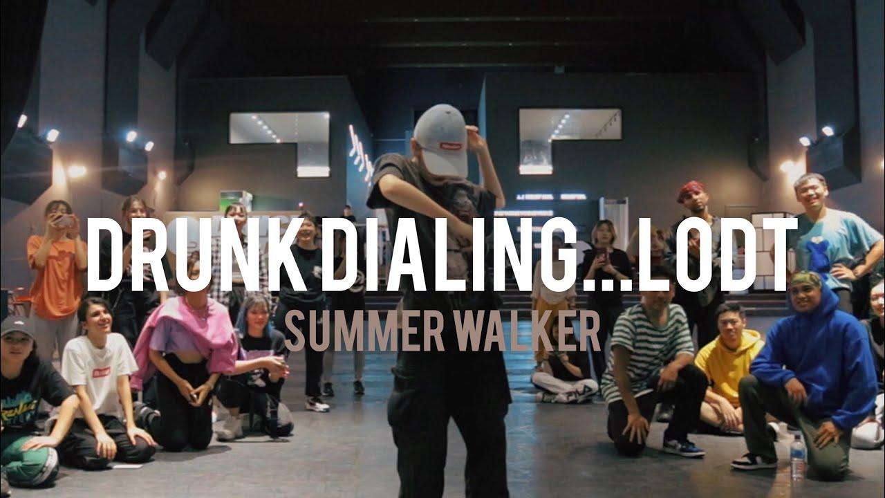 Summer Walker - Drunk Dialing...LODT   Cheshir Ha Choreography