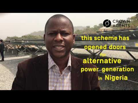 Nigeria's largest solar project