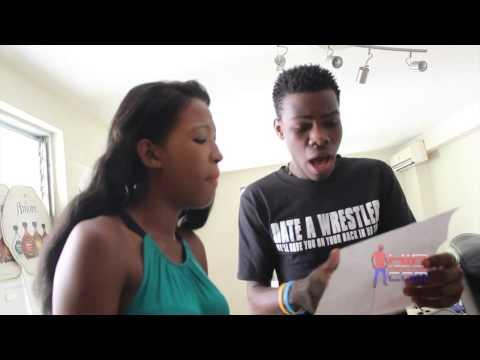 Miah feat Ded kra z Mwen bouke, Session Studio Part 1