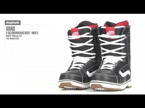 fba349c569 Vans V-66 Snowboard Boot - Men s - YouTube