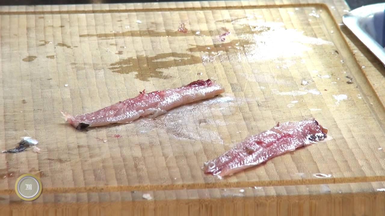 Comment cuisiner les sardines avec Le Squer ? - YouTube on