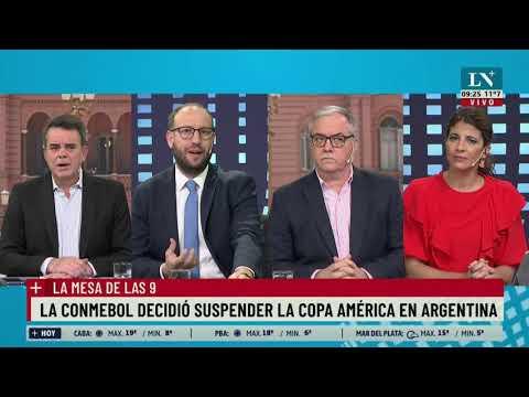 """Cafiero: """"La realidad epidemiológica impidió poder realizar la Copa acá"""""""