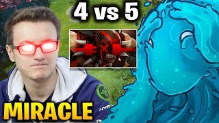 Miracle Morphling: He Can Win Even with 4 vs 5