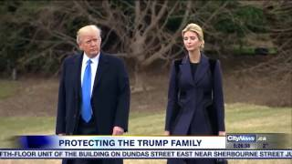 Video: The cost of protecting the Trump family