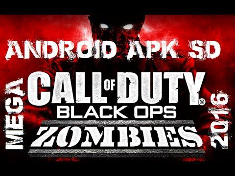 descargar call of duty black ops zombies android apk + sd mega