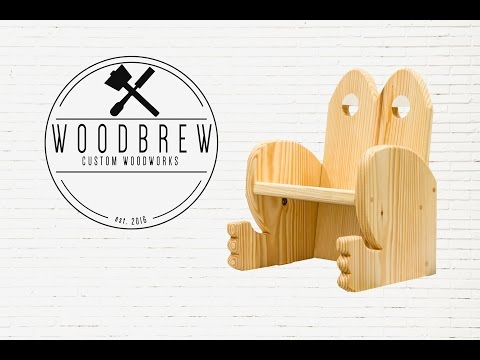 DIY Kids Frog Chair | Easy Woodworking Project Homemade