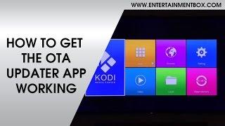 How To Get OTA Working EBox® T8-AML-V3 Android OTA Update