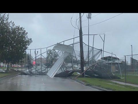 Hurricane Zeta Aftermath - New Orleans Westbank
