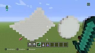 [tutorial minecraft] como hacer un papel grande en minecraft (patoGamer)