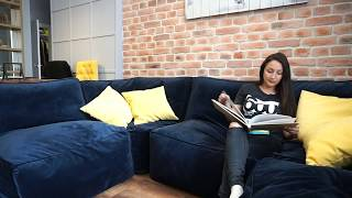 Гипсовая плитка loft style