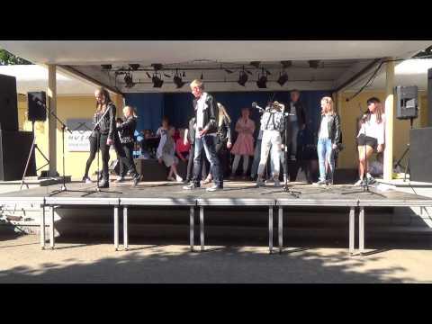 Grease musical HUSET 2014