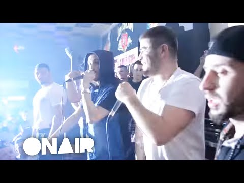 Noizy ft.OverLord & NiiL-B - 3 Fletshat  Live