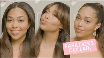 All About My Easilocks Collab (3 Everyday Hairstyles) | Jordyn Woods