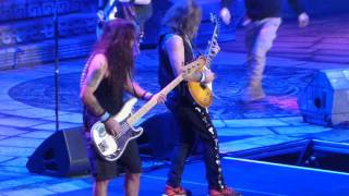 """The Red and the Black"" Iron Maiden@Madison Square Garden New York 3/30/16"