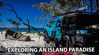 Overnight trip camping, fisнing and exploring Bribie Island // FISHING FOR TAILOR