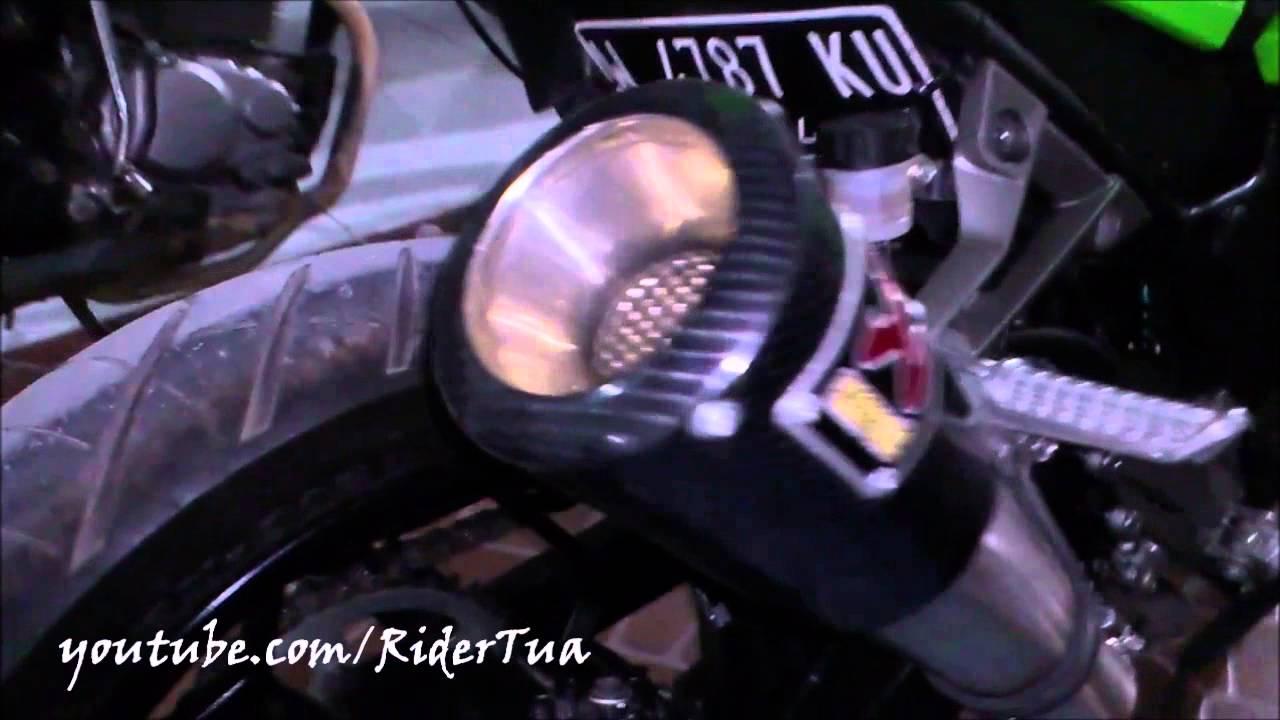 Kawasaki Ninja 250 Fi Green Non Abs Akrapovic Exhaust Youtube Knalpot Prospeed R25 Mt25 Mf Series Fullsystem Black Chome
