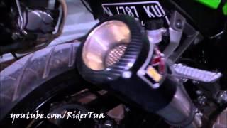 Kawasaki Ninja 250 FI Green Non ABS Akrapovic Exhaust