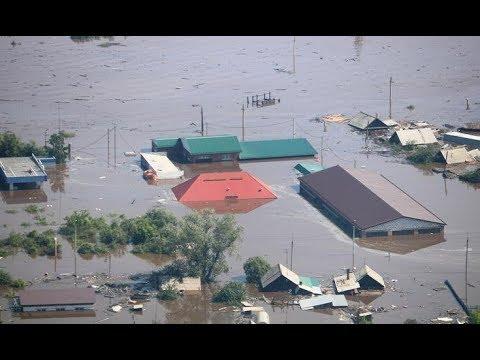 Наводнение в Иркутской