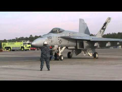 NAVAIR - Electromagnetic Aircraft Launch System (EMALS) First Launch (Raw) [1080p]