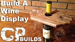 Wine Display And Glass Holder