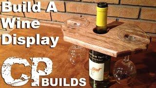 Wine Display And Glass Holder