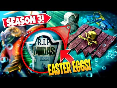 *NEW* Top 10 Secret Easter Eggs YOU MISSED In Fortnite SEASON 3! (Battle Royale)