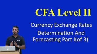 CFA Level II: Currency Exchange Rates: Determination and Forecasting Part I(of 3)
