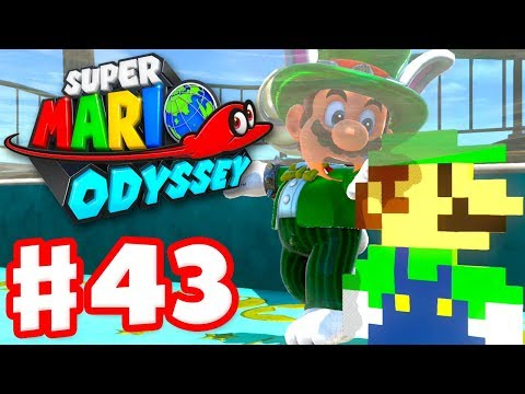 Super Mario Odyssey - Gameplay Walkthrough Part 43 - New Outfit! 3 New Hint Arts! (Nintendo Switch)