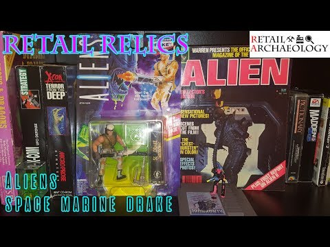 Aliens Space Marine Drake From Kenner | Retail Relics