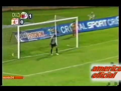 Deportivo pasto 1 | America de cali 0 (copa postobon 2013) from YouTube · Duration:  17 seconds