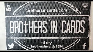 Brothers In Cards October Pack Plus Program Football - Gold Box 1
