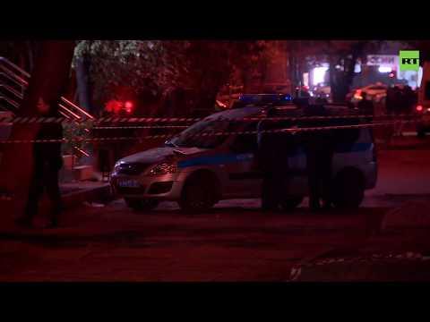 Нападение на полицейских у метро «Рязанский проспект» — видео